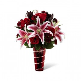 Le  Bouquet Romance durable